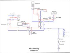 figure isometric diagram of a two bath plumbing. Black Bedroom Furniture Sets. Home Design Ideas