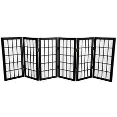 "Found it at Wayfair - 24"" Shoji Window Pane Room Divider http://www.wayfair.com/daily-sales/p/Split-Decision%3A-Room-Dividers-24%22-Shoji-Window-Pane-Room-Divider~OFN5375~E18840.html?refid=SBP.rBAZEVSa1MNzdnZ9v9LOAr2hqWP_-048oMZYEolDrjw"