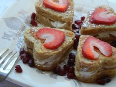 Coconut Crusted Stuffed French Toast - Will Cook For Smiles