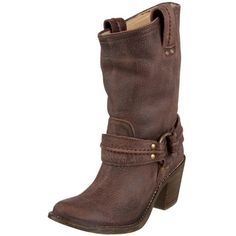 abe01289c4b0fa Amazon.com  FRYE Women s Carmen Harness Short Boot  grey - Polyvore Frye  Shoes