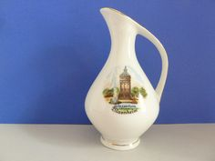 Pitcher from Wasserturm, Mannheim by BjsDoDads on Etsy