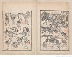Hokusai manga / Katsushika Hokusai ill. s.d.