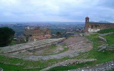 Italy - Lazio - Tivoli (Roma) - Teatro al Santuario di Ercole Vincitore - Photo G. Garofoli (03-2007) - © All rights reserved - Tesori del Lazio