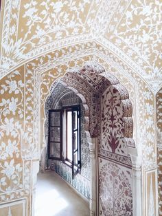 samode review India Architecture, Ancient Greek Architecture, Architecture Portfolio, Gothic Architecture, Futuristic Architecture, Beautiful Architecture, Interior Architecture, City Palace Jaipur, Venice Travel