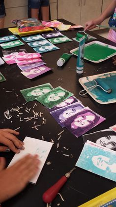 Art with Ms. Lloyd: 7th grade 2-D: Printmaking!!! Posterize the photo first
