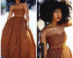 afrikanische kleider Ria African maxi dress / African dress / Ankara maxi dress / African print dress for women / African dresses African Party Dresses, African Wedding Dress, African Dresses For Women, African Print Dresses, African Print Fashion, African Attire, African Fashion Dresses, African Women Fashion, African Skirt