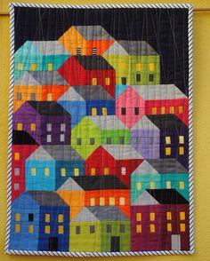 """""""Rain on hillside houses"""" 2015/16"""
