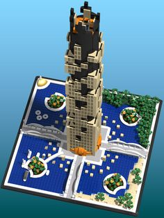 Entry for the Archbrick Brixtar Skyscraper Challenge