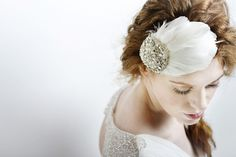 From our new 2014 Collection - as seen in You & Your wedding Handmade by us in Buckinghamshire   Matilda ...