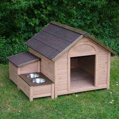 Caseta para perro espaciosa y funcional