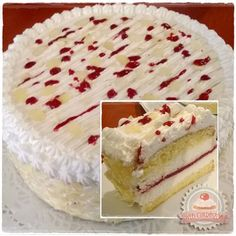 Citromos-málnás túrótorta Cheesecake Recipes, Dessert Recipes, Raspberry Cheesecake, Hungarian Desserts, Cold Desserts, Biscuit Cake, Pastry Cake, Sweet And Salty, Sweet Bread