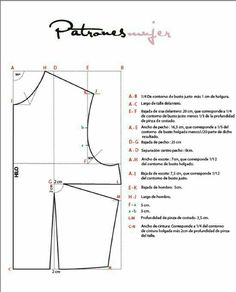 How to Draft a Basic Bodice Pattern Sewing Basics, Sewing Hacks, Sewing Tutorials, Sewing Crafts, Techniques Couture, Sewing Techniques, Pattern Cutting, Pattern Making, Clothing Patterns