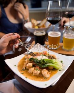 Cafe Food Royalty Free Stock Photo