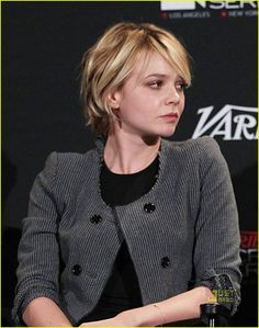 always love carey mulligan's hair, but this is a length i'd be brave enough to try