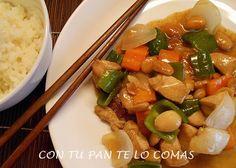 Con tu pan te lo comas: POLLO CHINO CON ALMENDRAS