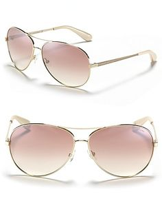 MARC BY MARC JACOBS Mirror Lense Aviator Sunglasses | Bloomingdale's