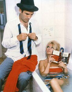 "Brigitte Bardot in ""Le Mépris"", 1963"
