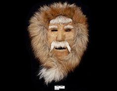 Man's face, Inupiaq, Alaska