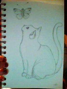 chat rêveur pendant les révisions..une pensée s'envole pour Emma ☺