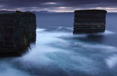 21 Surreal Places in the UK to Add to Your Bucket List | Dun Briste, Downpatrick, Northern Ireland