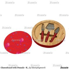 Shop Cheeseboard with Utensils - Kitchen Designer Gifts created by libertydogmerch. Personalized Cheese Board, Personalized Gifts, Design Your Kitchen, Kitchen Utensils, Kitchen Remodel, Create Your Own, Food And Drink, Diy Kitchen Appliances, Kitchen Gadgets