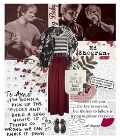 """You'd find me busking on the street when it was cold outdoors, now I'm sweating on the stage of a sold-out tour. Writing love songs for the sake of it, never to make a hit. You can't fake talent and work ethic just to make it quick. ♥"" by sssdmr ❤ liked on Polyvore featuring WallPops, Graham & Brown, H&M, Cost Plus World Market, Isabel Marant, Gucci, Korres, Ancient Greek Sandals, Nails Inc. and Luxury Fashion"