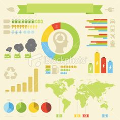Infographics – Energy & Ecology Royalty Free Stock Vector Art Illustration