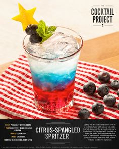 just got a star-spangled makeover with this patriotic citrus spritzer ...