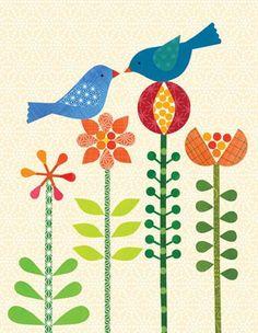 Petit Collage Eco-Keepsake Notecards for Chronicle Books.