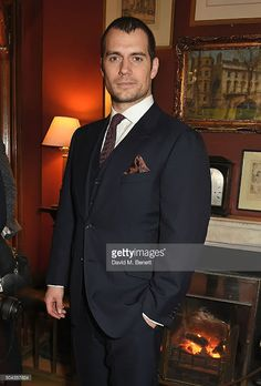 Henry Cavill News: Henry Attends Dunhill's Fall/Winter 2016 Show In London