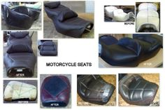 reluvd motorcycle seating