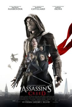 Jeremy Irons, Marion Cotillard, Michael Fassbender, Hovik Keuchkerian, and Ariane Labed in Assassin's Creed The Assassin, Assassins Creed, Assassin's Creed Film, Assassin's Creed Hd, Creed Movie, Streaming Movies, Hd Movies, Movies Online, Movies And Tv Shows