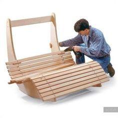 Непременным атрибутом вашей зоны отдыха в саду, должно стать удобное кресло или удобная скамья с большим количеством мягких подушек. А, что если это будет не просто кресло, а самое что ни на есть крес...