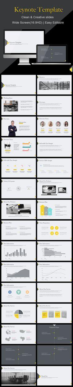 Clean - Keynote Template #slides Download here: http://graphicriver.net/item/clean-keynote-template/14585843?ref=ksioks