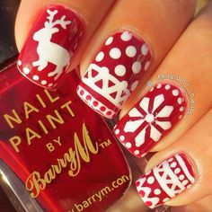Christmas by falguni_nails  #nail #nails #nailart
