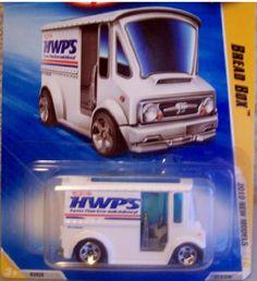 Hot Wheels 2010 New Models Bread Box 1:64 Scale by Mattel. $0.01