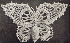 Heirloom Crochet - Vintage Irish Crochet - Priscilla Irish Crochet Lace No 2  Beautiful!!!
