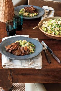 Italian Pot Roast - 101 Best Comfort Food Classics - Southernliving. Recipe: Italian Pot Roast  This hearty pot roast is perfect for a busy weeknight. Just put the ingredients in your slow cooker and let it do all the work.