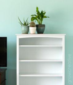 House Plants and White Shelf: growcreativeblog