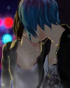 Wipe that tear away now from your eye I imagine these two kissing in the rain then Chloe pulls Max to somewhere dry because she doesn't want her to get sick. Then they just continue where they left...