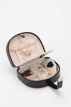Cerise Travel Jewelry Case - Urban Outfitters