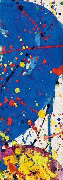 Sam Francis  Untitled SF62-013
