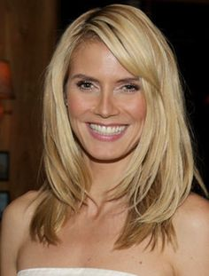 25 Sexy Heidi Klum Hairstyles That Make You Want to Go Blonde | Headquarters for Hair