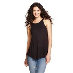 Women's Ribbed Swing Tank - Mossimo Supply Co. (Junior's) : Target