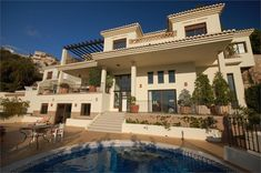 villas by the sea with gardens   Villa for sale in Almunecar, Spain with Private Pool > Property ...