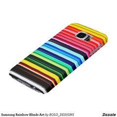 Samsung Rainbow Blinds Art Samsung Galaxy S6 Cases