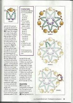 """Браслеты. Архив """"Beads and Button - Handbook 2"""" / Схемы / Бусинка"""