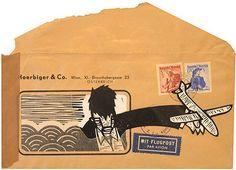 envelope #mail #art