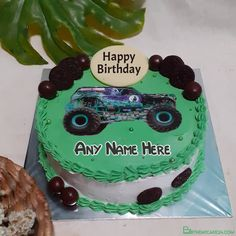Car Birthday Wishes Cake For Boys With Name Birthday Wishes Cake, Car Birthday, Birthday Greetings, Happy Birthday, Cake Templates, Cake Name, Cakes For Boys, Happy Baby, Names
