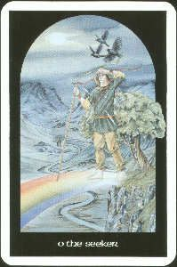 The Fool from the Arthurian Tarot